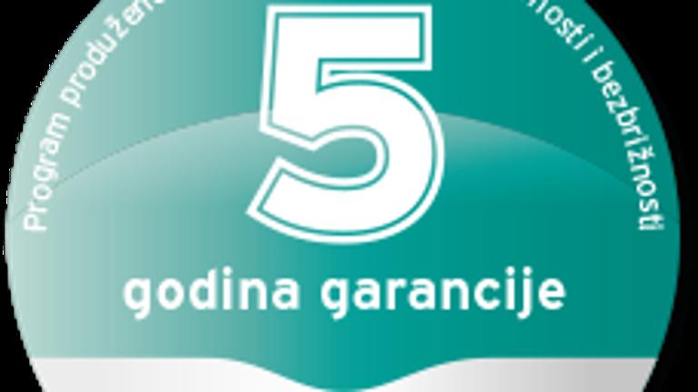 5 godina garancije